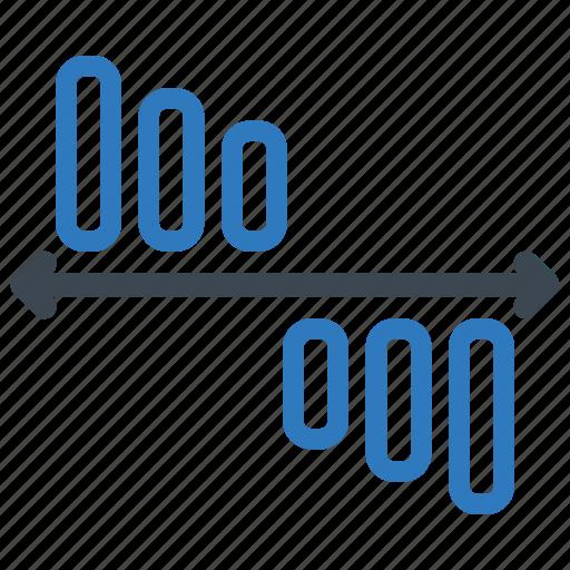 analytics, decrease, loss, sales report icon