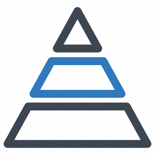 Analytics, pyramid, triangle icon - Download on Iconfinder