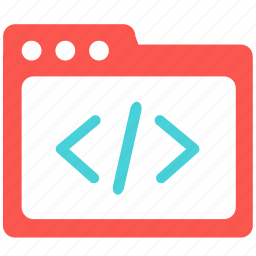 code, coding, dev, development, embed, file, folder icon