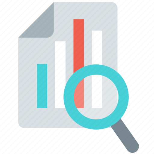 analysis, analytics, diagram, graph, report, search, statistics icon