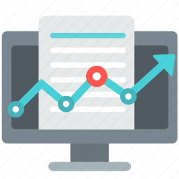 analysis, analytics, business, chart, data, graph, report icon