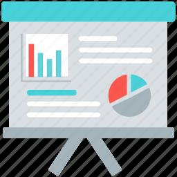 analytics, chart, diagram, graph, presentation, report, training icon