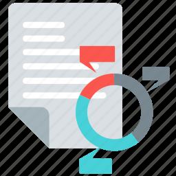 analytics, chart, data, diagram, graph, report icon