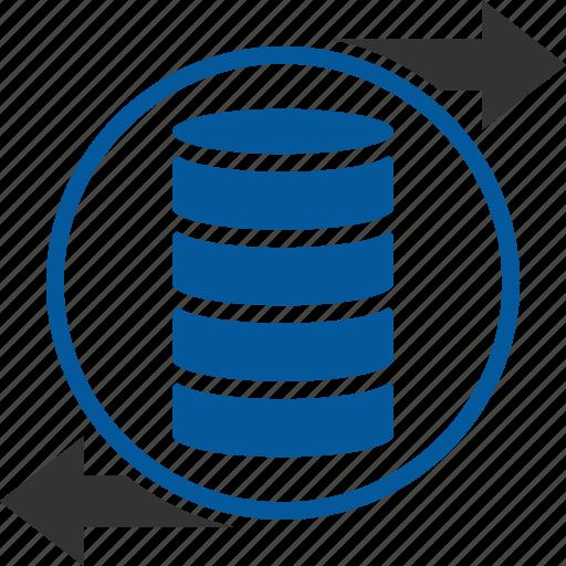 Data, interchange, exchange, shift, trade, transaction, transfer icon - Download on Iconfinder