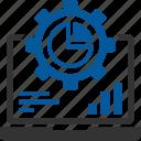 data, process, processing, progress, setting icon