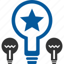best, creative, design, idea, plan, scheme, thought icon