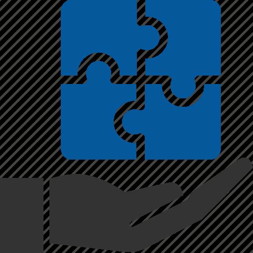 business, manage, management, problem, solution icon