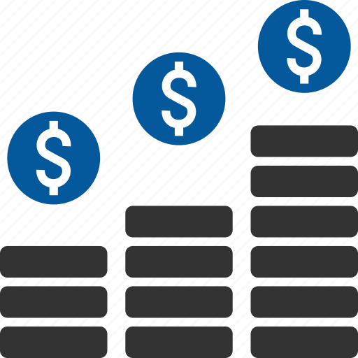 earnings, income, profit, returns, revenue, turnover icon