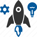 launch, missile, new, startup icon