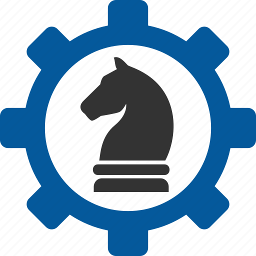 business, chess, game, management, strategic, strategy icon