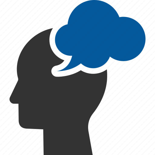Thinking, brain, mindset, power, storm, storming icon - Download on Iconfinder