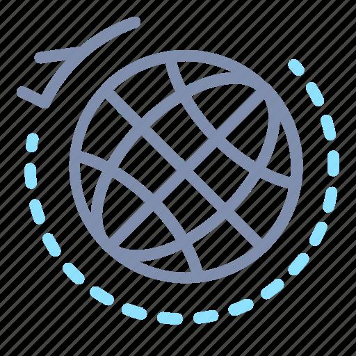 delivery, ecommerce, international, overseas, shipping, worldwide icon