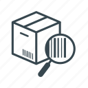 barcode, business, cargo, container, delivery, logistics, shipping icon
