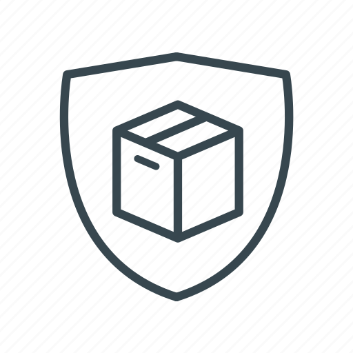 delivery, logistic delivery, logistics, package, protected, secure icon icon