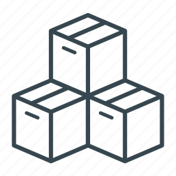 box, business, cargo, container, logistics, shipping icon