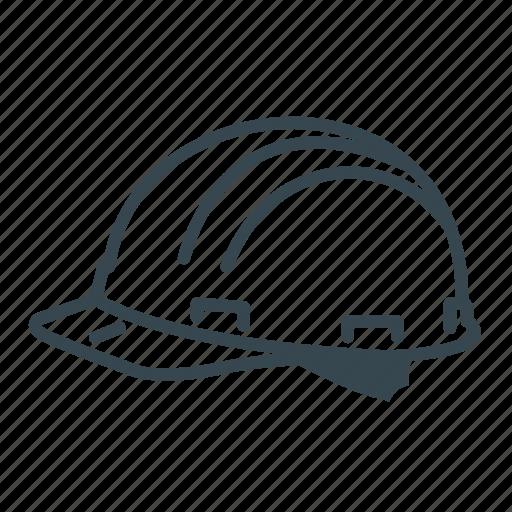 antiknock helmet, head, helmet, safety icon