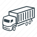 business, cargo, container, delivery, intermodal, logistics, lorry icon
