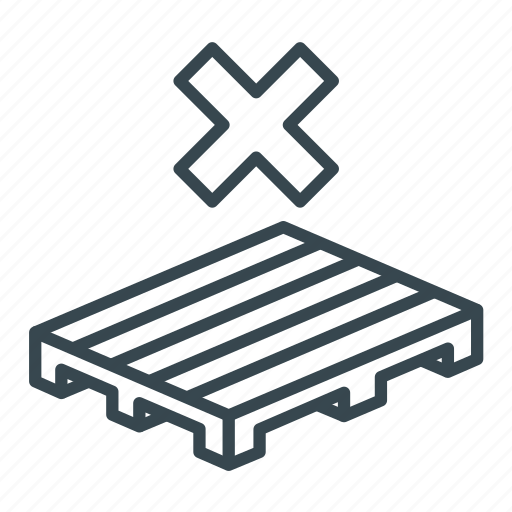 Business, crate, logistics, no, pallet, storage, wooden icon - Download on Iconfinder