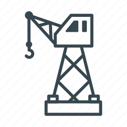business, cargo, container, delivery, logistics, port, shipping icon