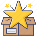 favorite, product, star icon