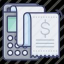 invoice, purchase, receipt, sale icon