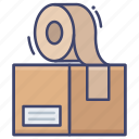 cargo, package, packing, parcel icon