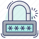 password, security, user icon