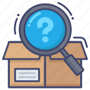 find, product, search, stock icon