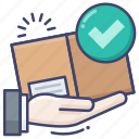 delivery, package, shipping icon