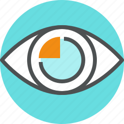 business, eye, future, market, marketing, opinion, plan, sight, vision icon
