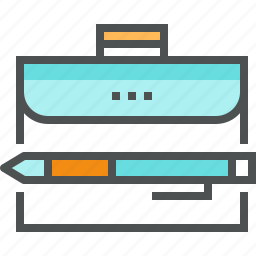 bag, briefcase, business, case, document, folder, portfolio icon