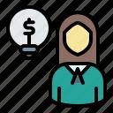 avatar, businesswoman, creative, entrepreneur, idea, user, woman