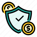 lock, payment, safe, safety, shield icon