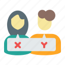 chat, check, communication, conversation, customer service, support icon