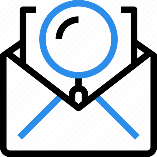 communication, email, letter, mail, messgae, research, search icon