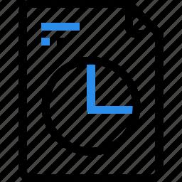 corporate, data, document, file, graph, report, seo icon