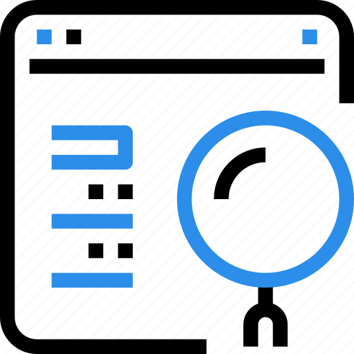 browser, business, marketing, online, research, search, seo icon