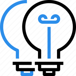 brainstorm, creative, creativity, idea, light, think, thinking icon