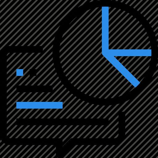 business, communication, graph, management, report, seo icon