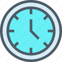 business, corporate, office, time, timer icon