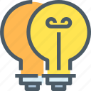 brainstorm, creative, design, idea, think, thinking icon