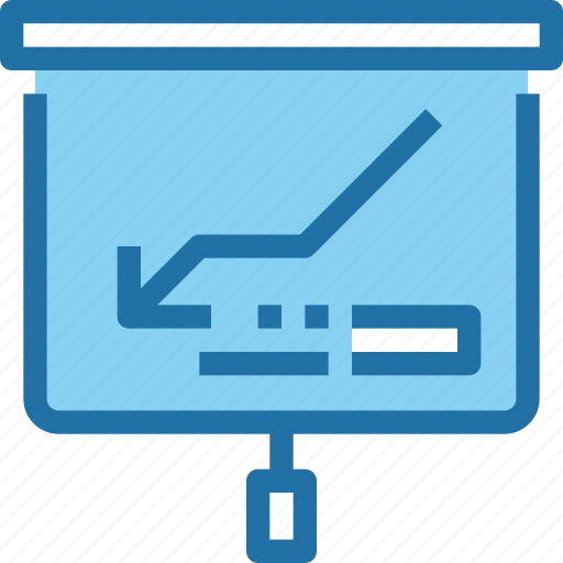 arrow, business, corporate, office, presentation, report icon