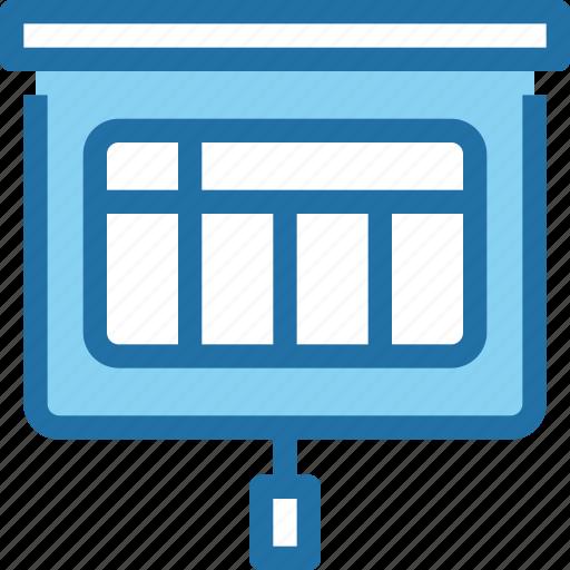 business, corporate, finance, office, presentation icon