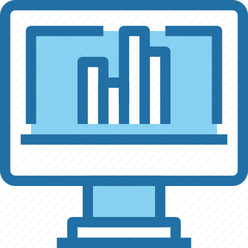 business, computer, data, graph, report icon
