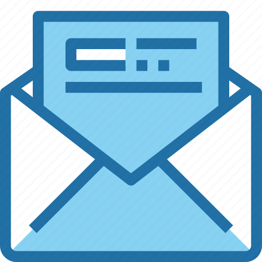 business, communication, email, letter, mail, message, office icon