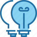 brainstorm, business, idea, light, think, thinking icon