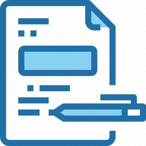 business, contract, corporate, document, finance, office icon