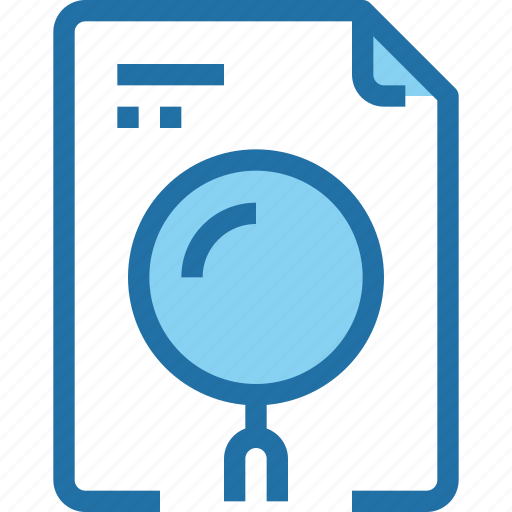business, document, file, office, research, search, seo icon