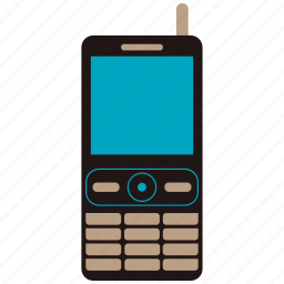 cellphone, message, mobile, old phone, phone icon