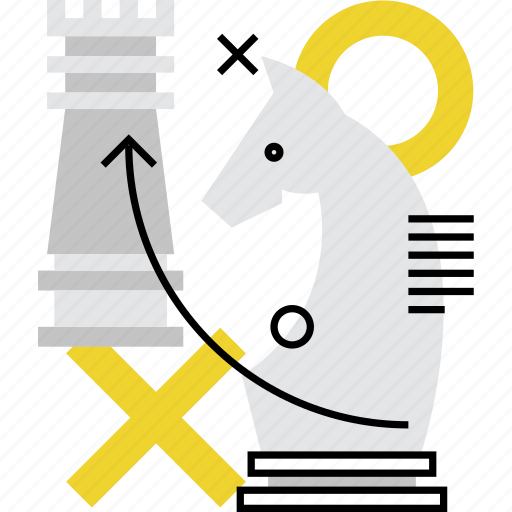 battle, chess, intellectual, mission, strategy, tactic, tactics icon